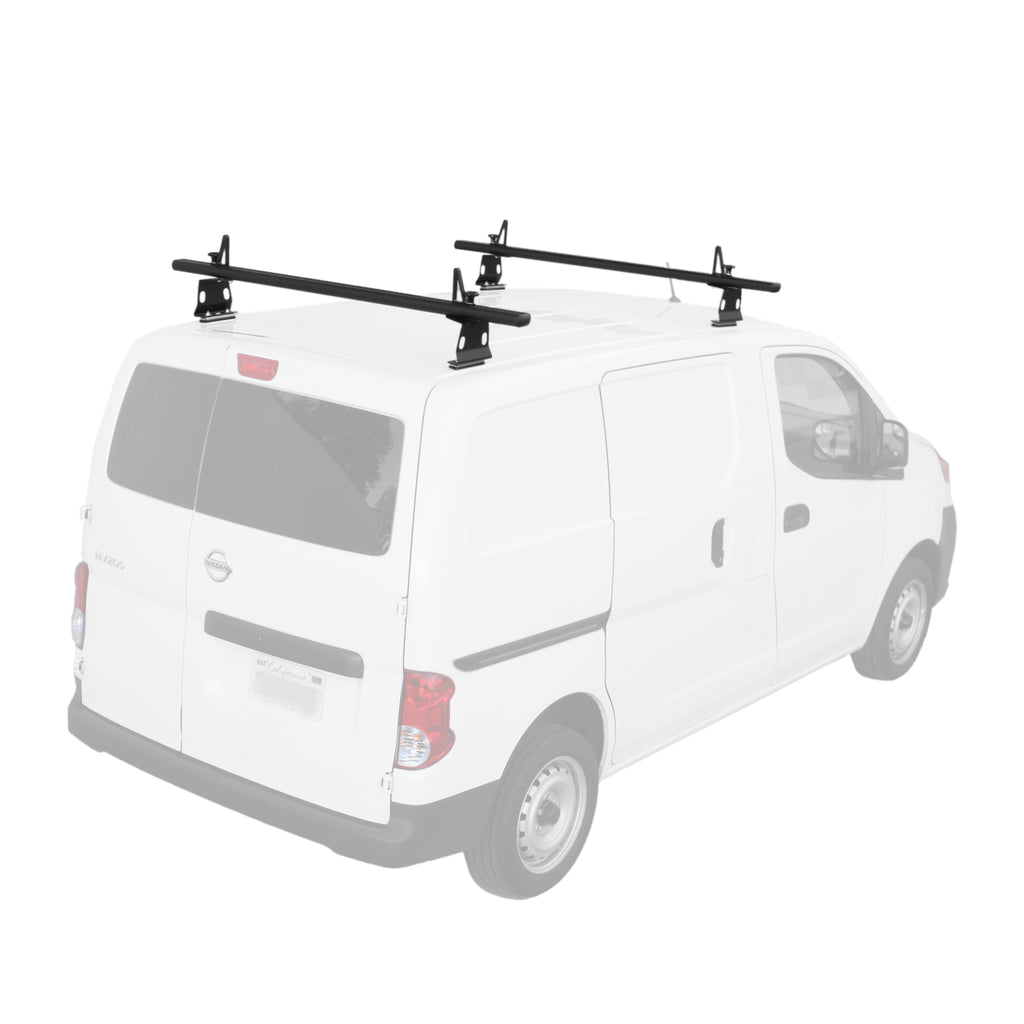 AA-Racks Aluminum Exterior Rack Nissan Van Roof Rack Ladder Rack with Load Stop (Fits: Nissan NV200 (2013-On) (AX302-NV200)