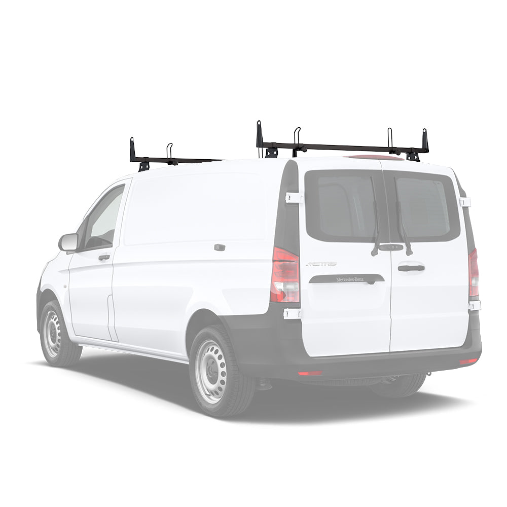 AA-Racks Rooftop Cargo Carrier Van Roof Racks Cross Bar Steel for Mercedes-Benz Metris 2014-On (X202-ME)