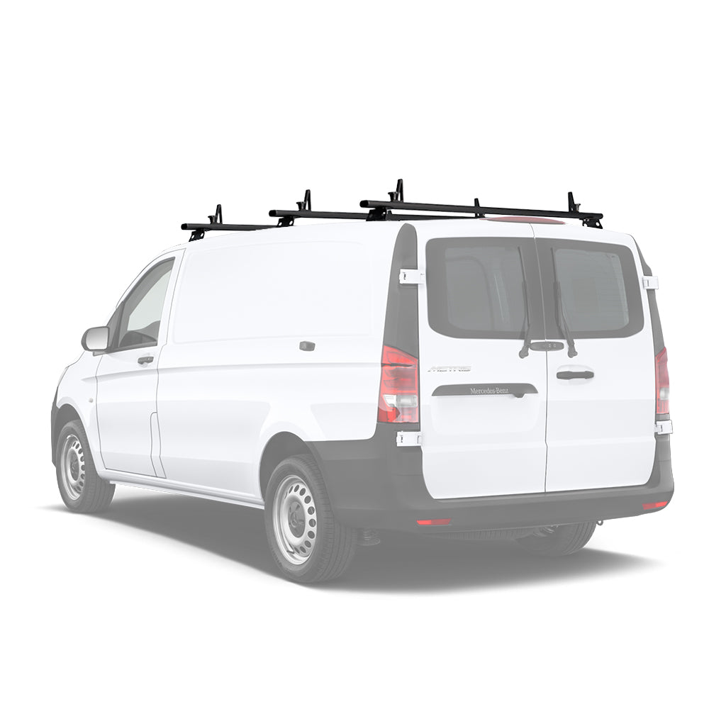 AA-Racks Aluminum Van Ladder Roof Racks System (Fits: Mercedes-Benz Metris 2014-On) (AX312-ME)