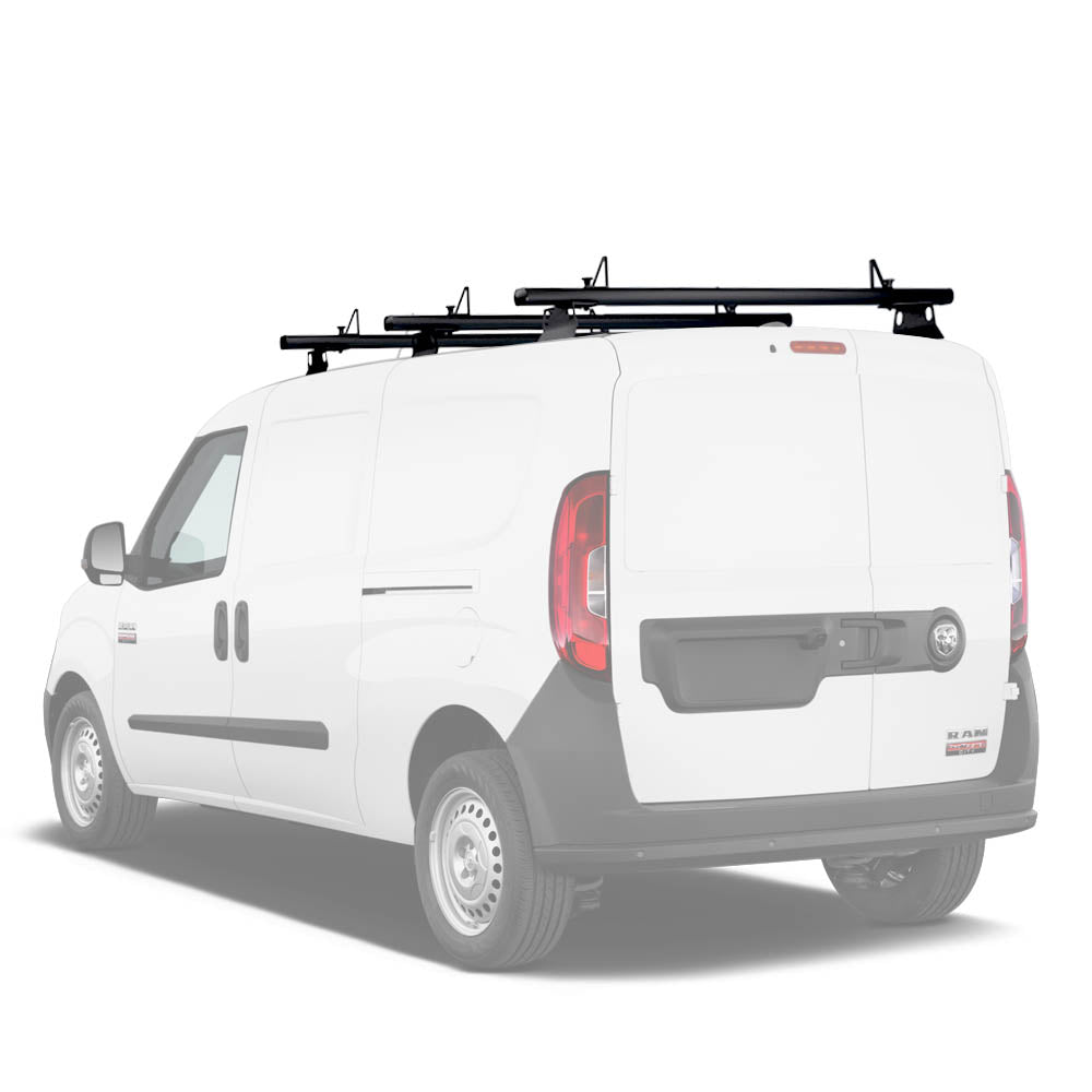 AA-Racks Aluminum Van Roof Ladder Rack with Load Stopper (Fits: RAM ProMaster City 2015-On) ( AX302-PR(CT))