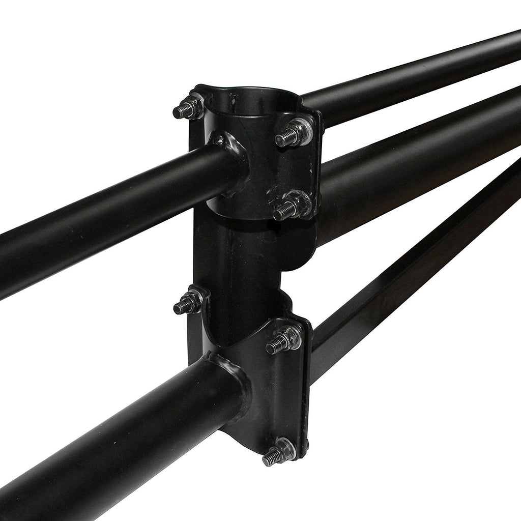 AA-Racks Adjustable Side Bar with NO Cab. Extension for Basic Two Bar Truck Ladder Rack (P39-B-BX2)