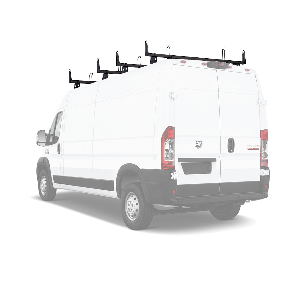 "AA-Racks Heavy Duty Steel Cargo Van Ladder Roof Racks 72"" Cross Bar Fits for RAM ProMaster 2013-On (X202-PR)"