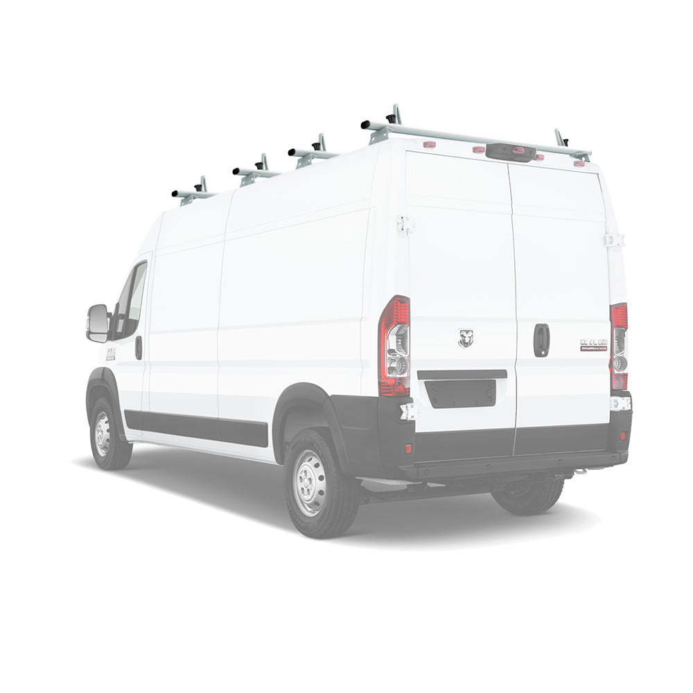AA-Racks Aluminum Van Ladder Roof Racks (Fits: RAM ProMaster 2013-On) (AX312-PR)