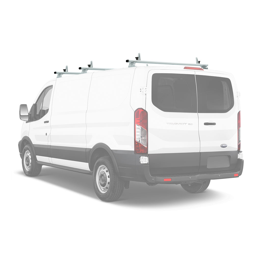 AA-Racks Aluminum Van Ladder Roof Racks System (Fits: Transit 2015-On) (AX312-TR)
