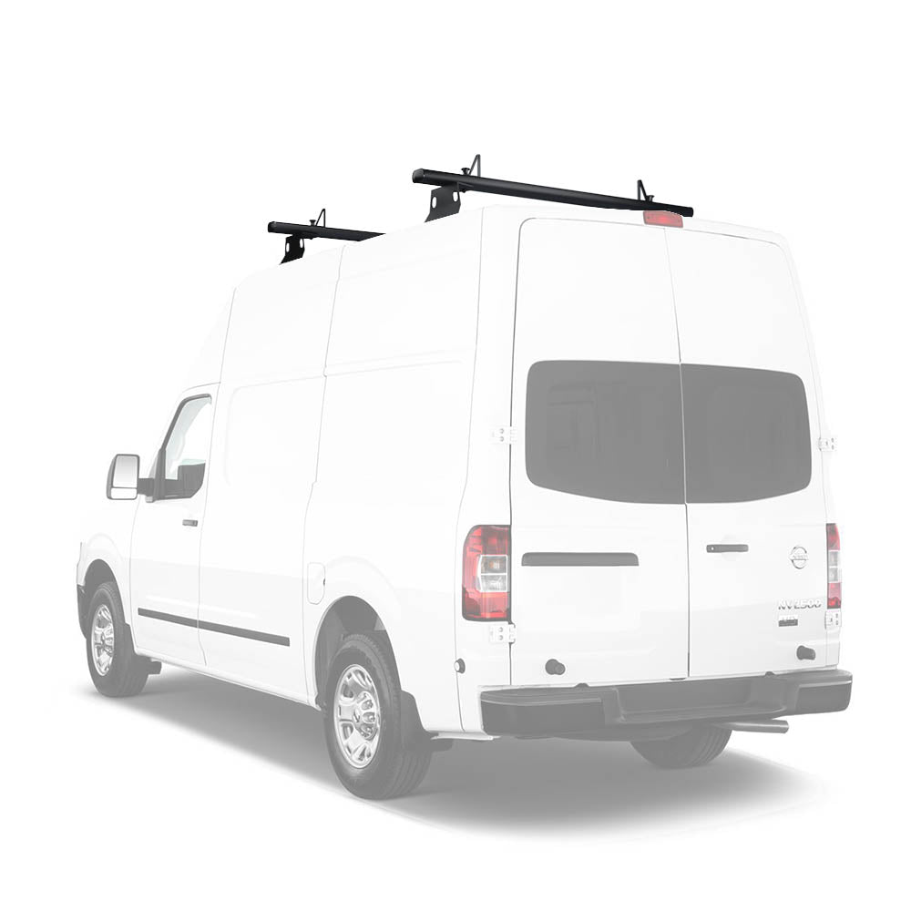 AA-Racks Aluminum Cross Bar Van Roof Rack System with Load Stops for Nissan NV 2012-On (AX302-NV)