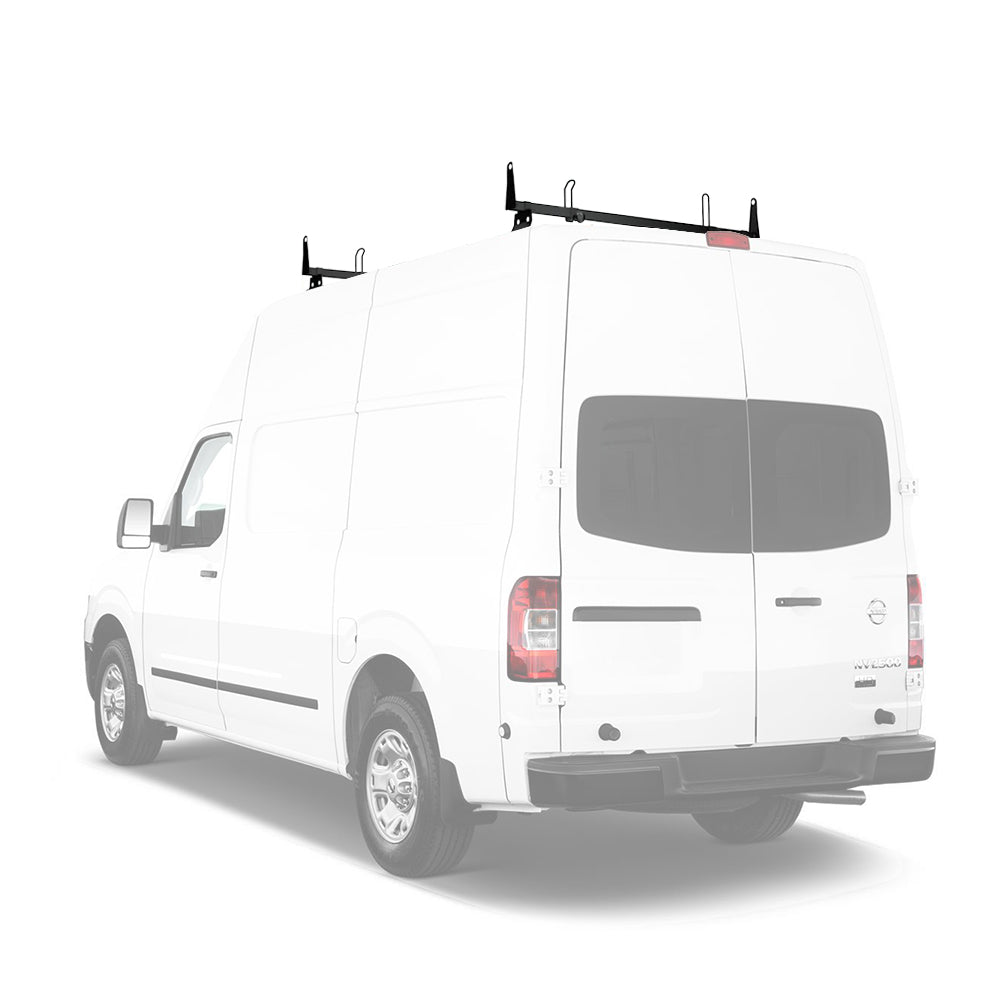 AA-Racks Steel Cross Bar Van Roof Rack System with Load Stops for Nissan NV 2012-On (X202-NV)