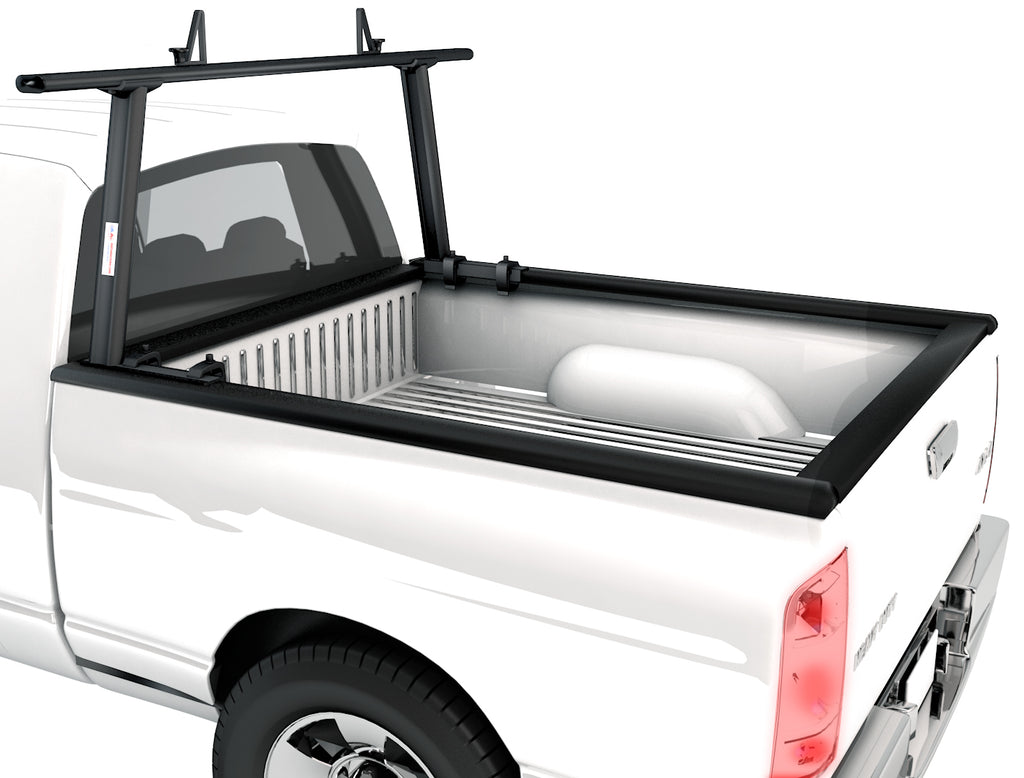 AA-Racks Universal No Drilling Aluminum Single Bar Pick-Up Truck Ladder Rack (APX25-A)