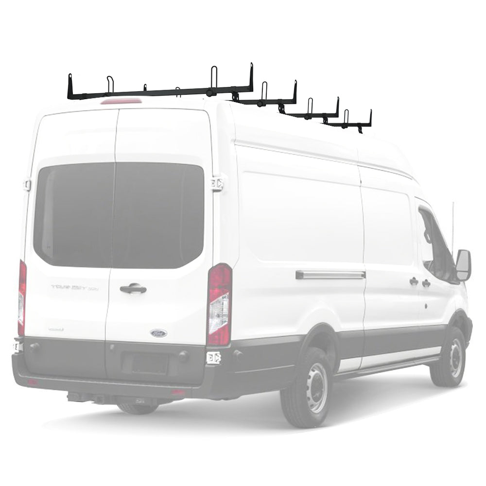 AA-Racks Steel Car Rooftop Cargo Van Ladder Roof Racks Fits Ford Transit 2015-On (X202-TR)