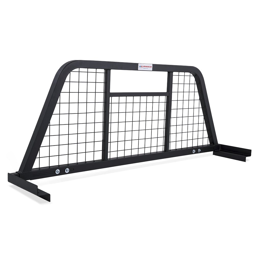 AA-Racks Universal Headache Rack Adjustable Back Rack Rear Window Cab Guard Steel (HX-501)