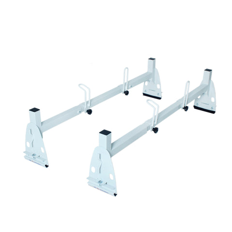 AA-Racks Universal Rain-Gutter Mount High Roof Cargo Van Roof Ladder Rack- (X217)