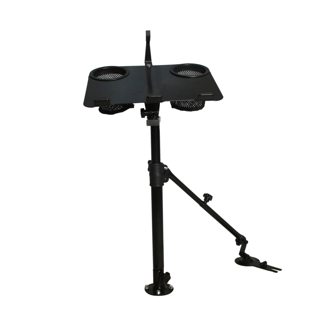 AA Products Car Laptop Mount Truck Vehicle Notebook Stand Holder with Adjustable Supporting Arm (K005-B2)