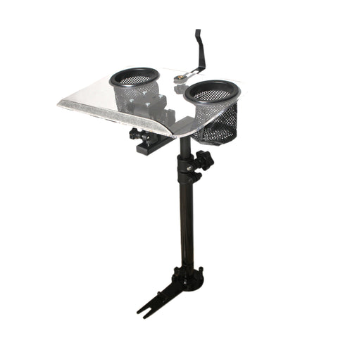 AA Products Auto Adjustable Laptop Mount Truck Vehicle Notebook Stand Holder with No Drilling Bracket (K005-A1)