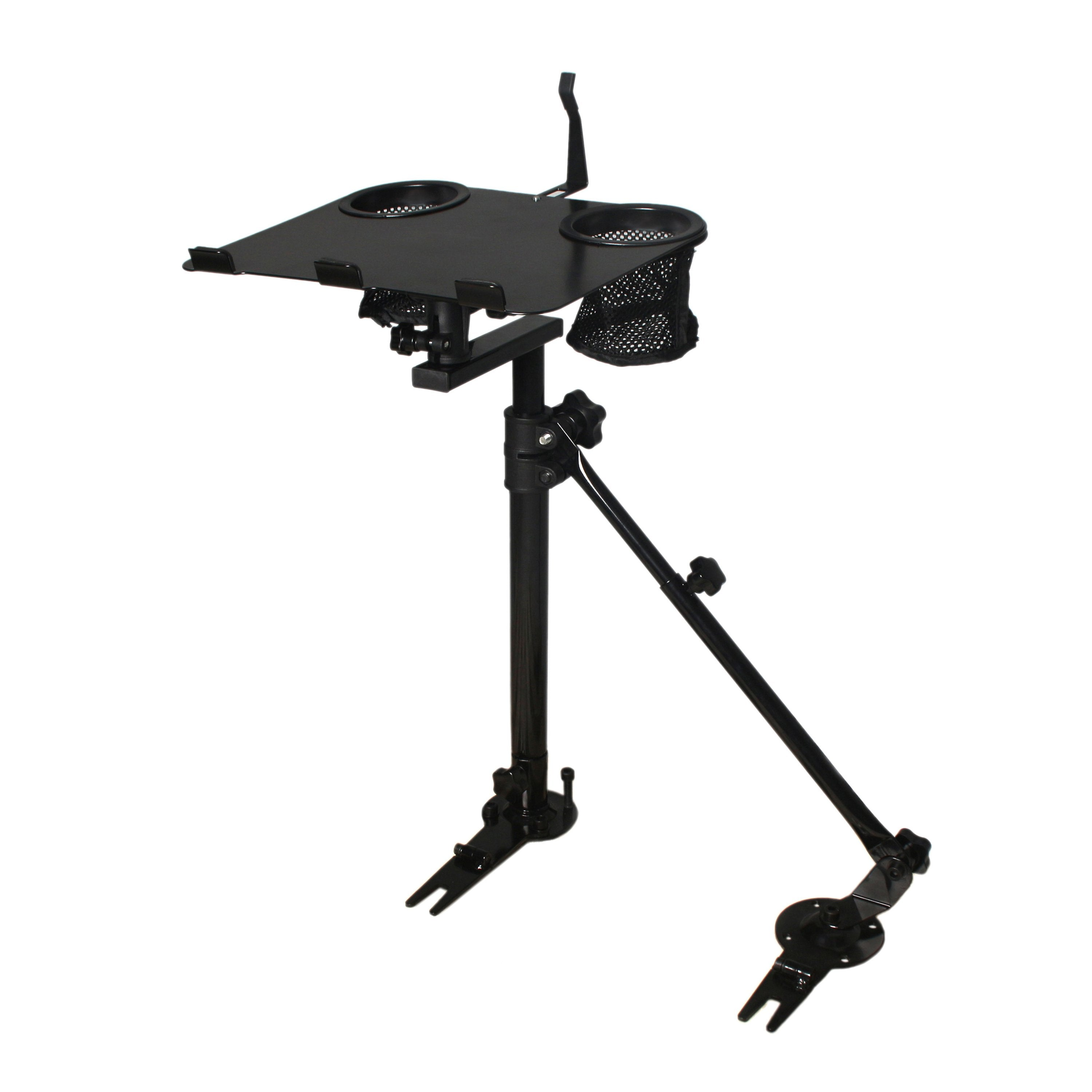 Adjustable No Drill Laptop Computer Mount Stand Holder for Vehicle Car Truck