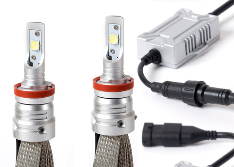 Silver-Lux LED Kit - H8 / H9 / H11 / H16 Type 2 - Pair (280011)