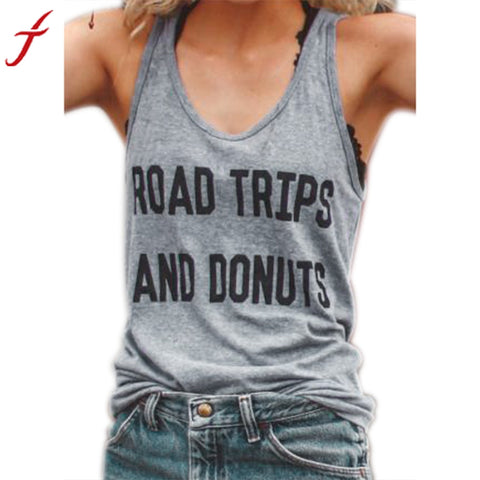 Road Trips and Donuts T-Shirt - Top