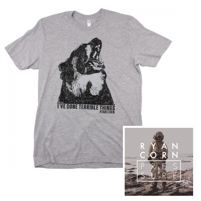 I've Done Terrible Things T-Shirt + Autographed CD