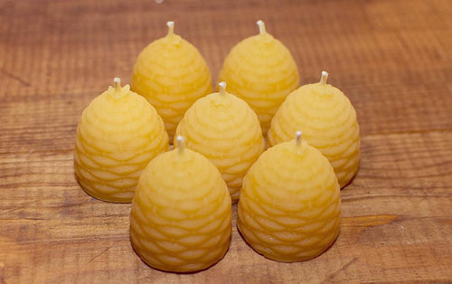 LONDON BEE COMPANY SOLID BEESWAX MINI HIVE CANDLES