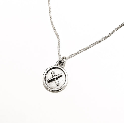 DAYA DAYA HANDCRAFTED 925 ECO SILVER INITIAL 'X' PENDANT