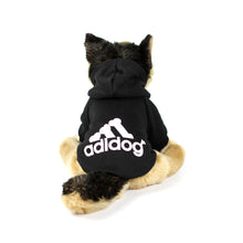 ADIDOG Hoodie in Black by The Paw Wag Company