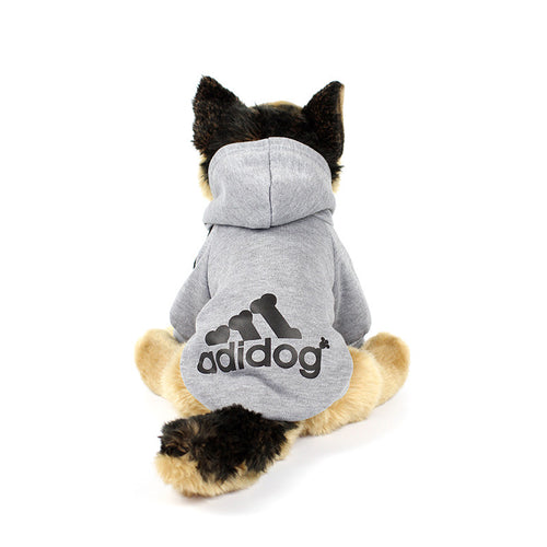 ADIDOG Hoodie in Grey by The Paw Wag Company