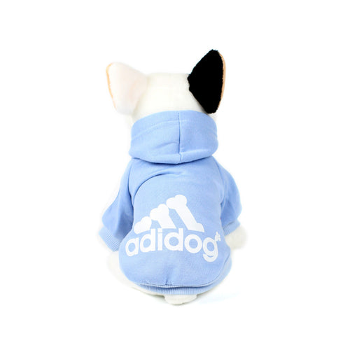 ADIDOG Hoodie in Light Blue by The Paw Wag Company