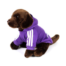 ADIDOG Hoodie in Purple by The Paw Wag Company