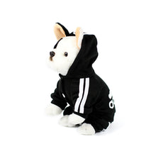 ADIDOG Tracksuit in Black by The Paw Wag Company