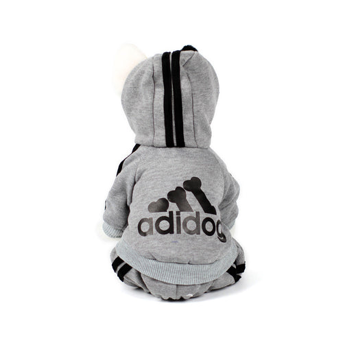ADIDOG Tracksuit in Grey by The Paw Wag Company