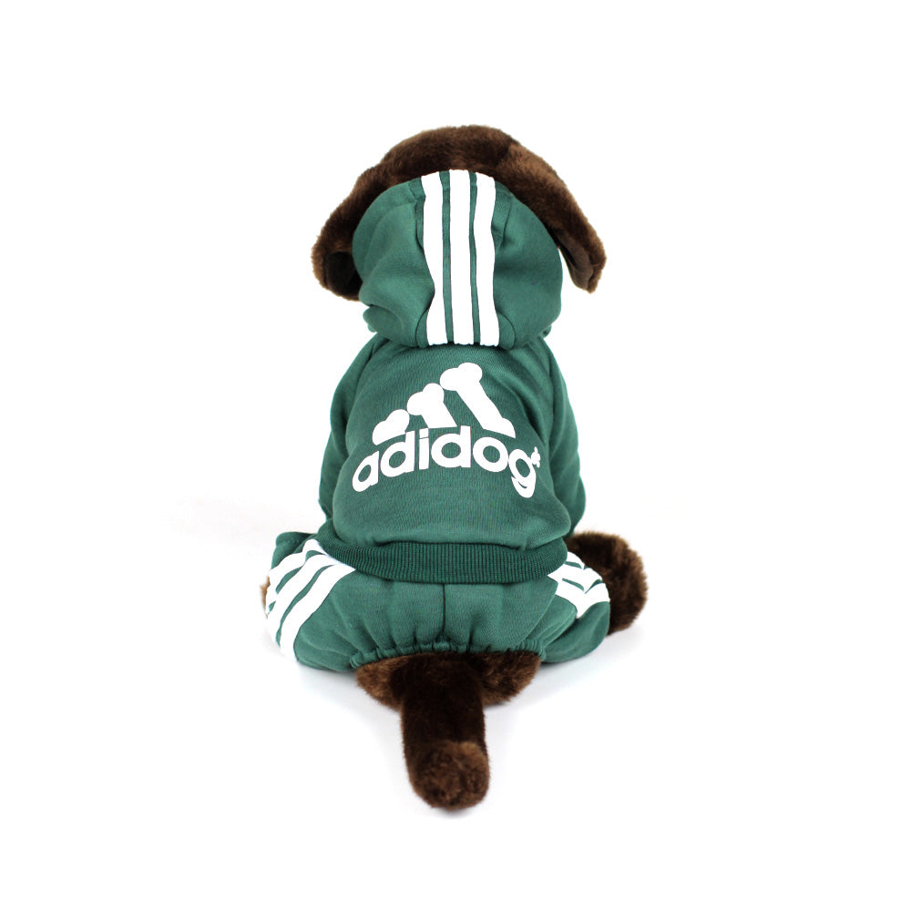 ADIDOG Tracksuit in Forest Green by The Paw Wag Company