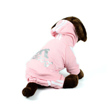 ADIDOG Tracksuit in Pink by The Paw Wag Company