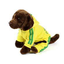 ADIDOG Tracksuit in Yellow by The Paw Wag Company