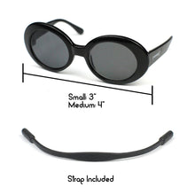 Clout Sunglasses in Black by The Paw Wag Company for Cats and Small Dogs.  Fashion Pet Glasses and Sunglasses.