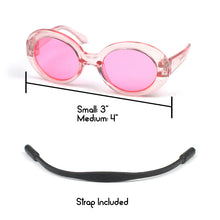 Clout Glasses in Pink by The Paw Wag Company for Cats and Small Dogs.  Fashion Pet Glasses and Sunglasses.