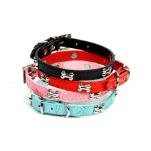 Dog Bone Collar in by The Paw Wag Company