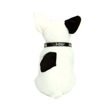 Dog Bone Collar in Black by The Paw Wag Company