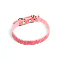 Terrier Charm Collar in Pink by The Paw Wag Company