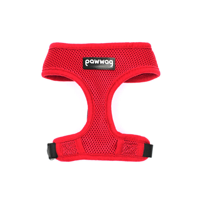 Paw Wag Harness in Red by The Paw Wag Company