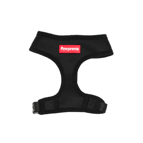 Pawpreme Harness in Black by The Paw Wag Company