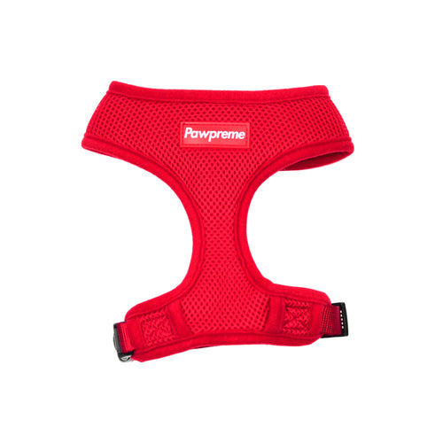 Pawpreme Harness in Red by The Paw Wag Company