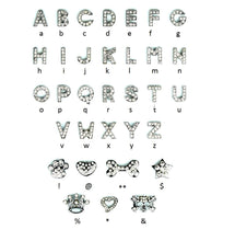 Rhinestone Letters and Charms by The Paw Wag Company