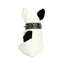 Rhinestones and Spikes Collar in Black by The Paw Wag Company