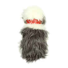 Rhinestones and Spikes Collar in Red by The Paw Wag Company