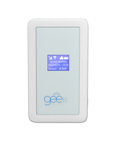 GeeFi: Unlimited Global Wifi