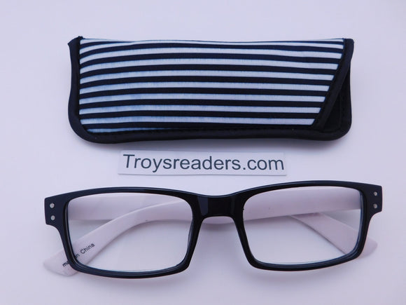 Black And White Readers In Four Styles Reader with Display Lines +1.00