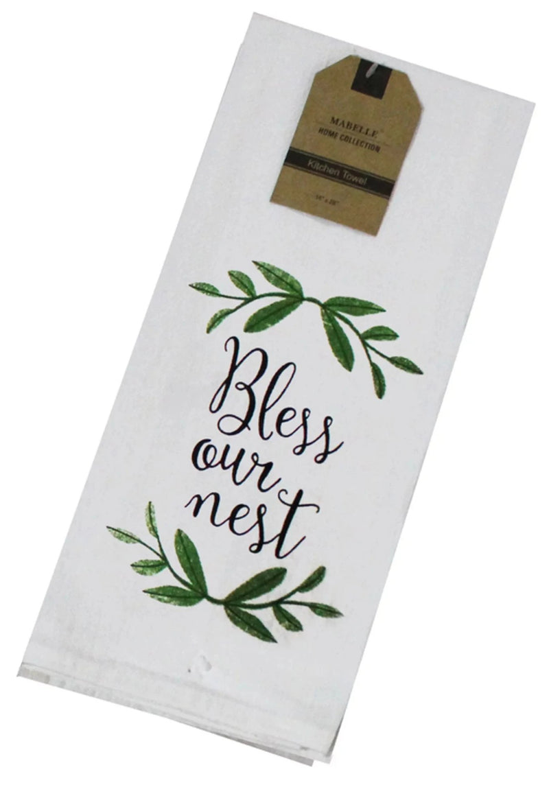 Bless Our Nest Dish Towel Dish Towel