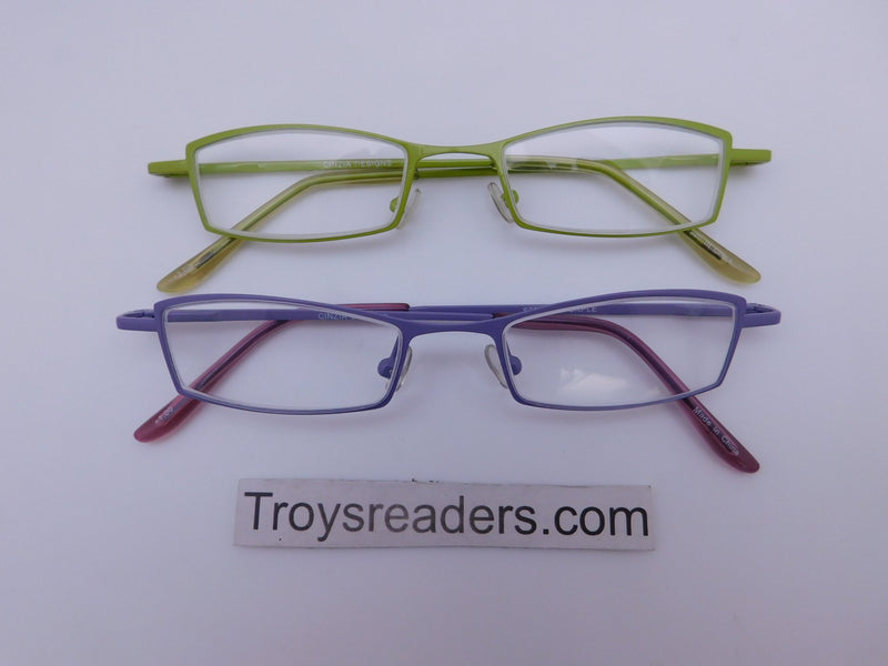 Cinzia Stripes Reading Glasses in Two Colors Cinzia