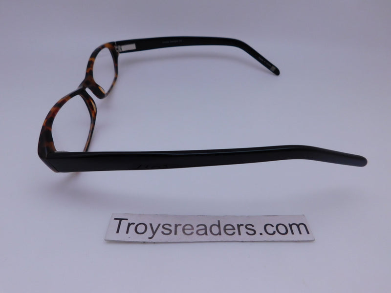 Cinzia Ultra Mod Readers with Case in Tortoise Single Power Reading Sunglass table