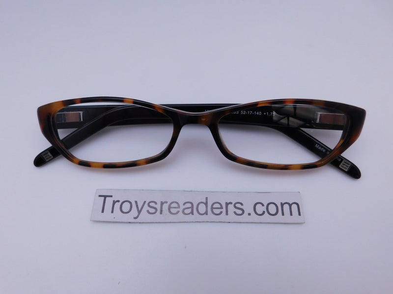 Cinzia Ultra Mod Readers with Case in Tortoise Single Power Reading Sunglass table Tortoise +1.75