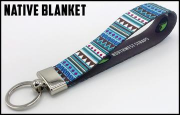 Executive Key Fob In 30 Styles Lanyard Native Blanket