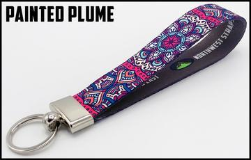 Executive Key Fob In 30 Styles Lanyard Painted Plume